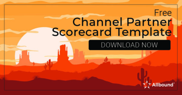 Channel Partner Scorecard Template