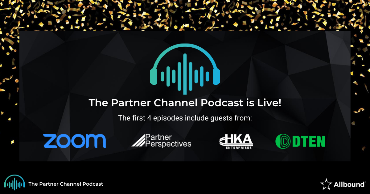 The Partner Channel Podcast is Live!