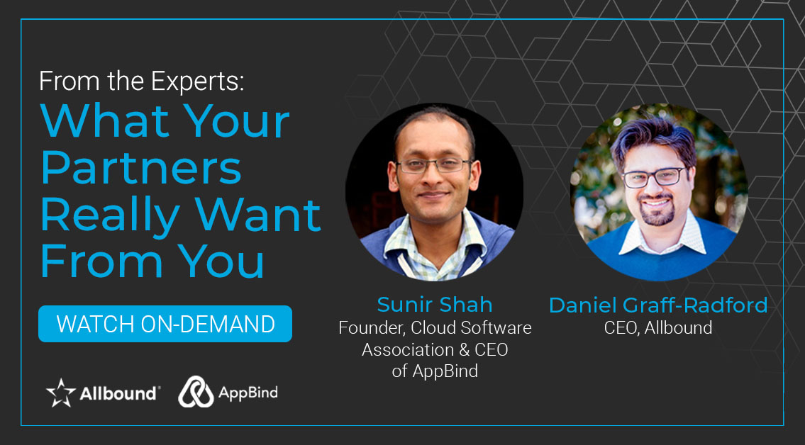 Webinar: What Your Partners Really Want From You