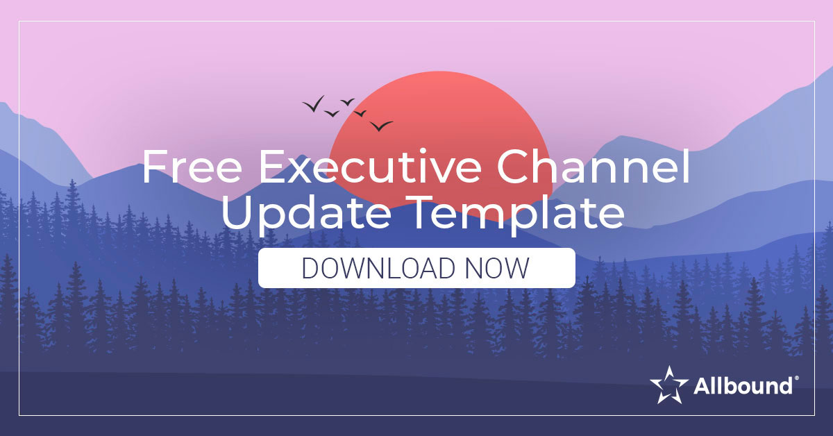 Free Executive Channel Update Template