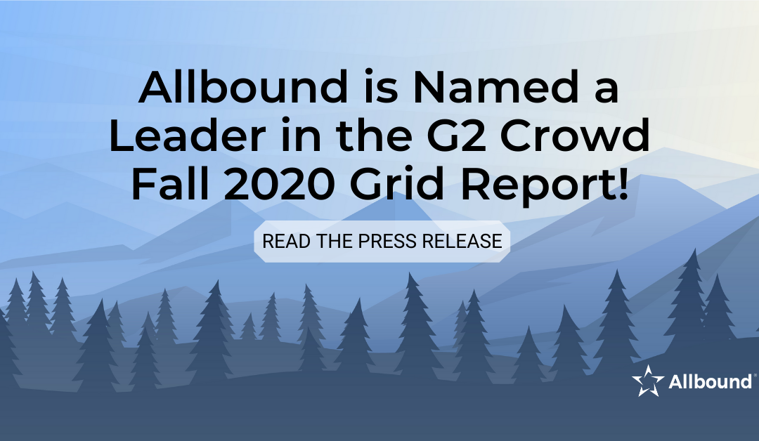 Allbound Named a Leader in Sixth Consecutive G2 Crowd Grid® Report for Partner Relationship Management