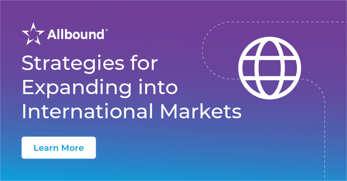 Strategies for Expanding into International Markets