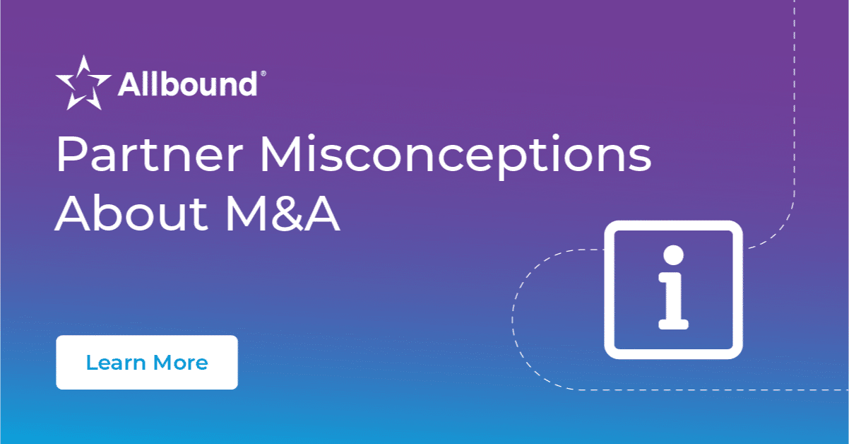 Partner Misconceptions About M&A